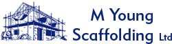 M Young Scaffolding Logo