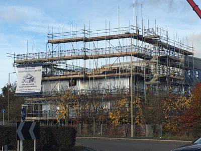 Premier-inn-scaffolding-Southampton