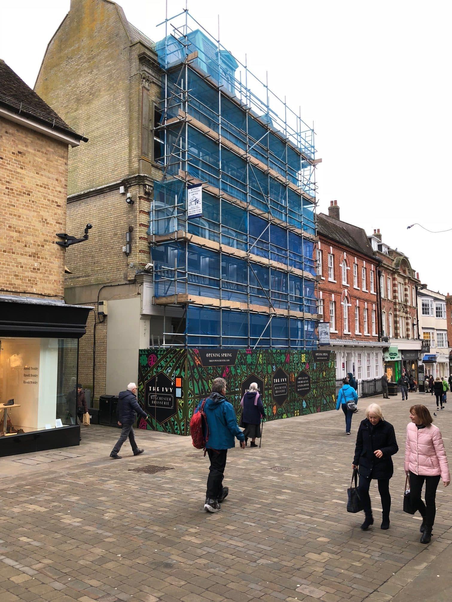scaffolding-high-street-Winchester
